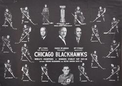 Stanley Cup 1938 Chicago BlackHawks