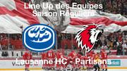 Line-Up HC Ambrì-Piotta - Lausanne HC