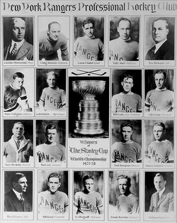 New York Rangers 1928 Stanley Cup Champions