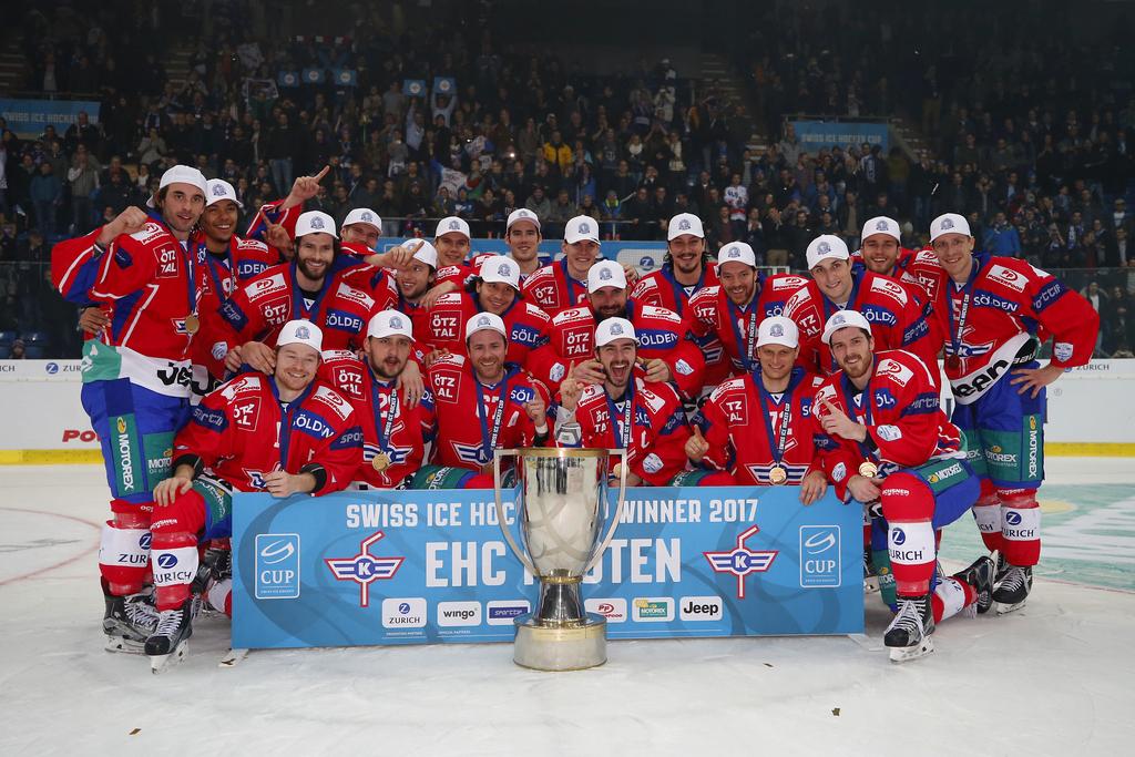 Vainqueur de la Coupe de Suisse 2017