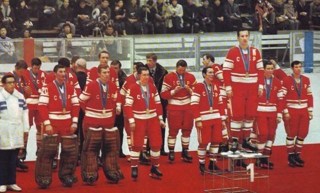 URSS- Champion olympiqu 1972