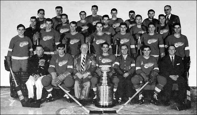 Detroit Red Wings champion 1954