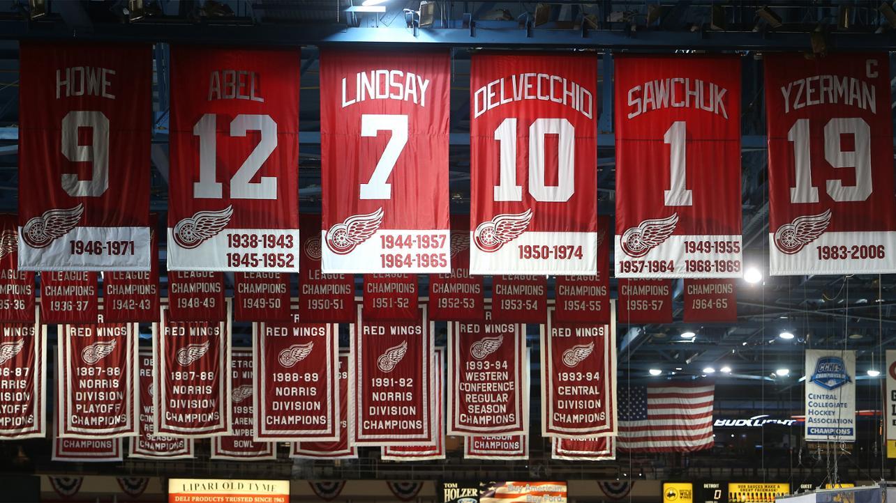 Les Maillots Retirés des Red Wings