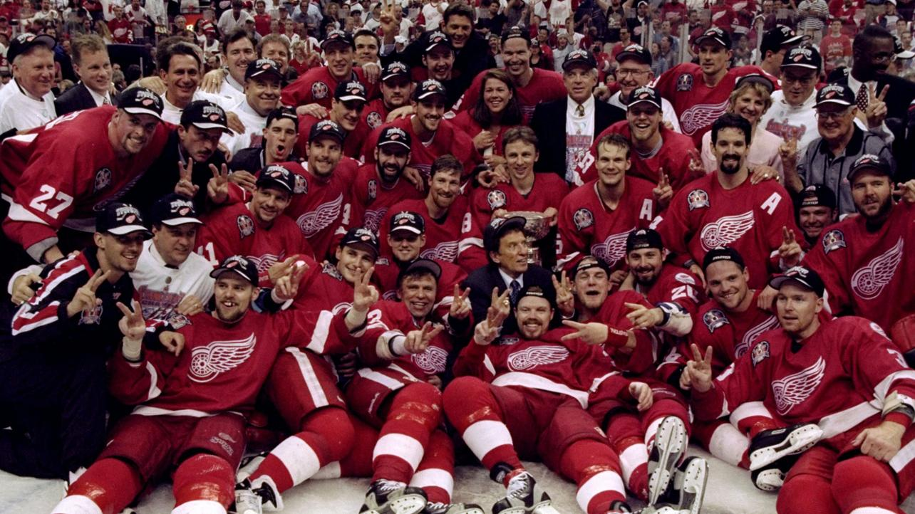Detroit Red Wings champion 1998