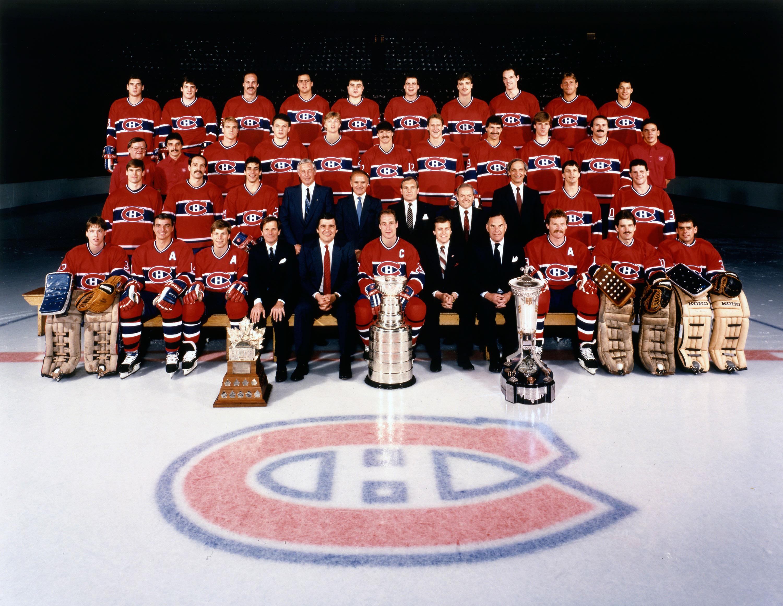 Canadiens Montréal Champions 1986