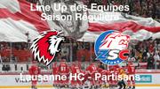 Line-Up HC Lausanne HC – ZSC Lions