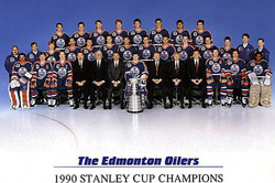 ChampIon Coupe Stanley 1990