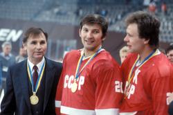 Tikohnov, Tretiak et Fetisov