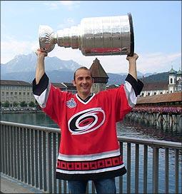 Martin Gerber et la Stanley Cup