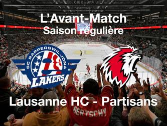 L'avant-match SC Rapperswil-Jona Lakers - Lausanne HC