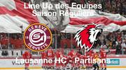 Line-Up Genève-Servette HC - Lausanne HC