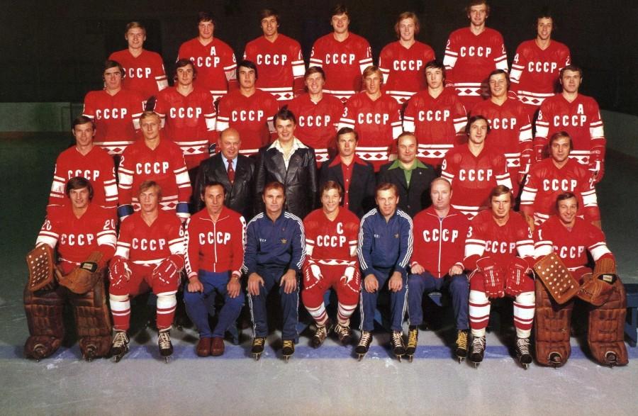 L'équipe d'URSS en 1976