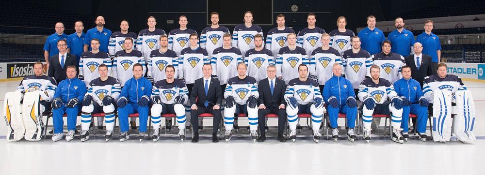 L'équipe de Finlande