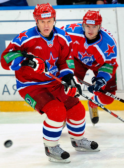 Fetisov au CSKA Moscou