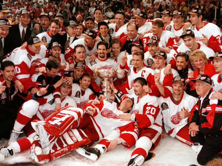 Detroit Red Wings champion 1997