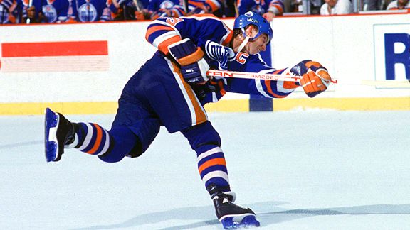 The Great One aux Edmonton Oilers
