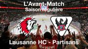 L'avant-match Lausanne HC – HC Fribourg-Gottéron
