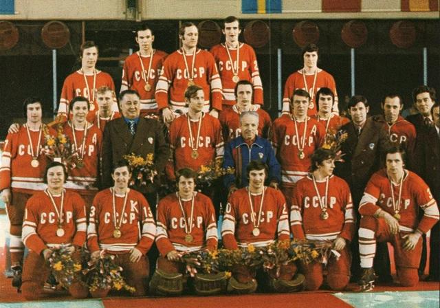 URSS - Champion olympique 1976