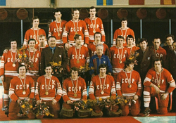 URSS - Champion olympique 1976