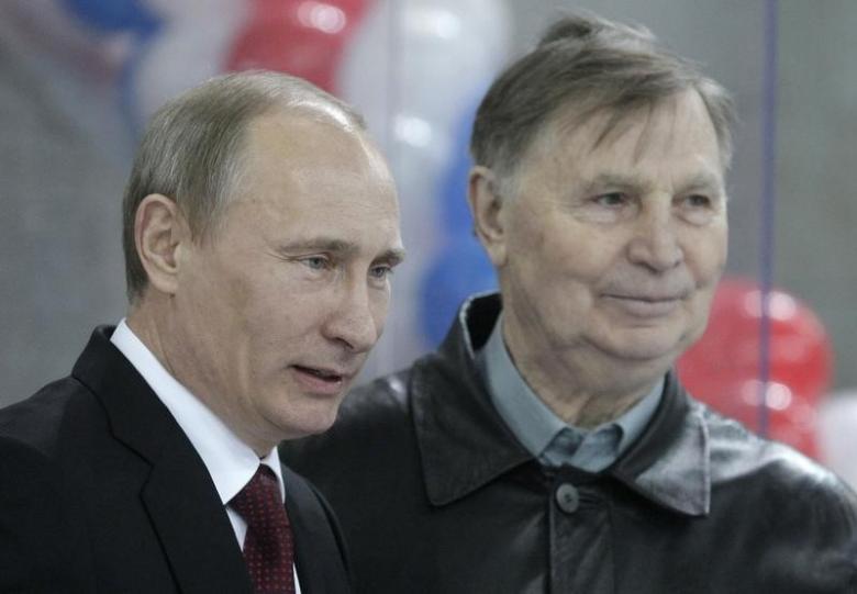 Vladimir Poutine et Viktor Tikohnov