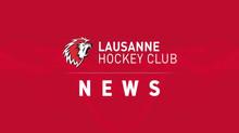 Cinq arrivées et deux prolongations de contrat au Lausanne Hockey Club