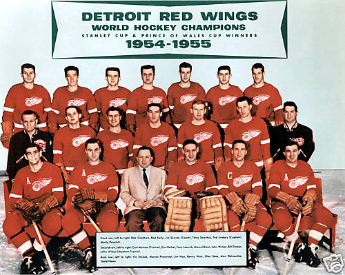 Detroit Red Wings champion 1955