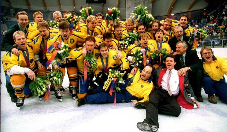 La_Suède, Champion Olympique 1994