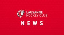 Le Lausanne Hockey Club réorganise son conseil d'administration – Patrick de Preux reste Président