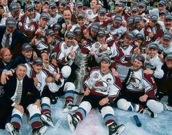 Colorado Avalanche - Stanley Cup Champions 2001