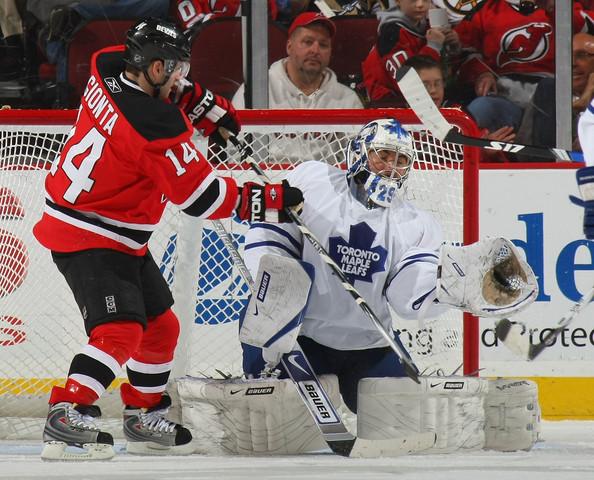 Sous le Maillot des Maple Leafs Toronto