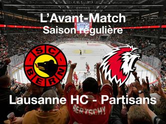 L'avant-match SC Bern - Lausanne HC