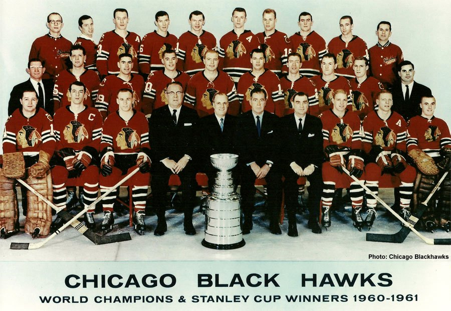 Stanley Cup 1961 Chicago BlackHawks