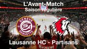 L'avant-match Genève-Servette HC - Lausanne HC