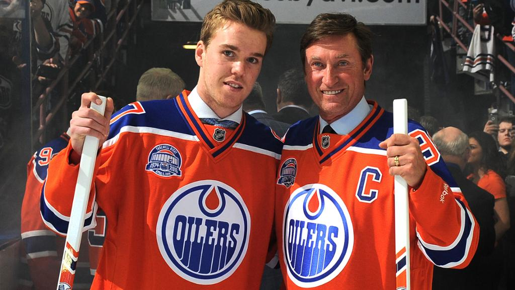 Connor McDavid & the Great One