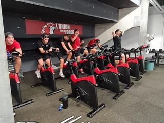 Session vélo pour nos Lions