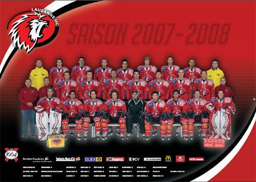 Lausanne HC 2007 - 2008