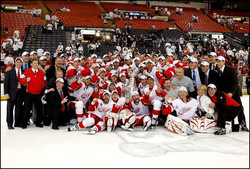 Detroit Red Wings champion 2008