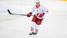 Justin Krueger s'entraîne avec le Lausanne HC