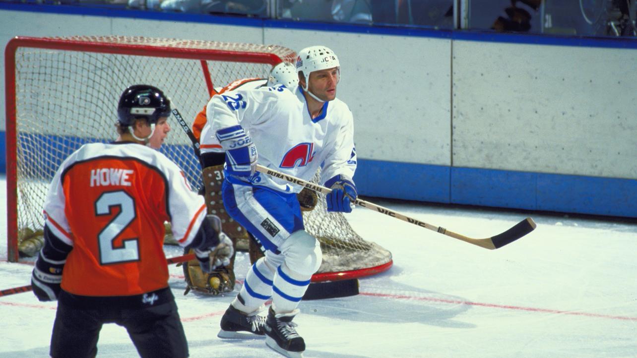 Peter Šťastný chez les Nordiques