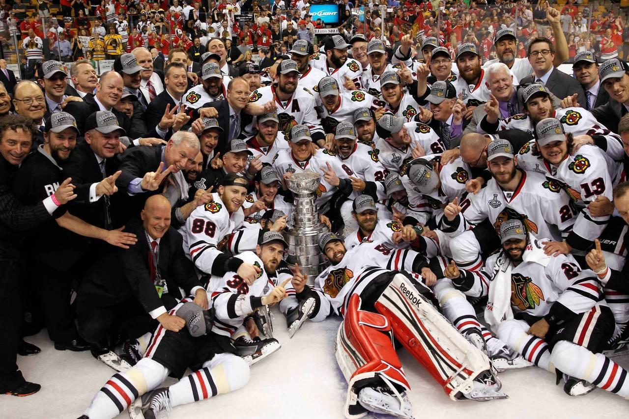 Stanley Cup 2013 Chicago BlackHawks