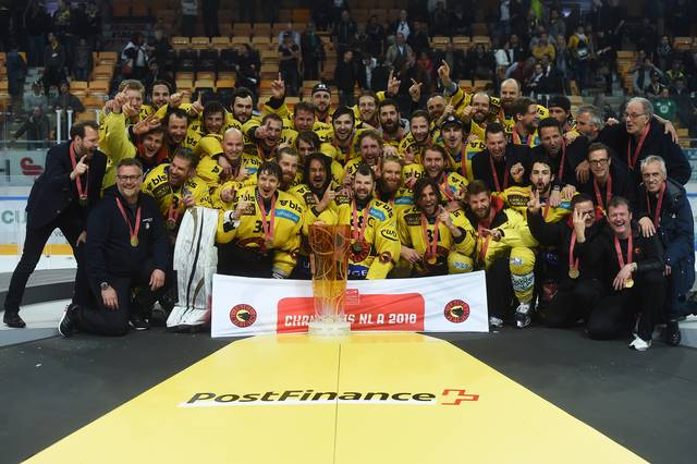 SC Bern Champions 2016