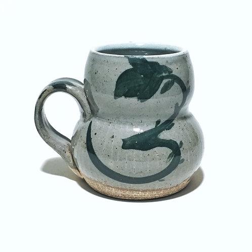 Floral Line Hip Mug