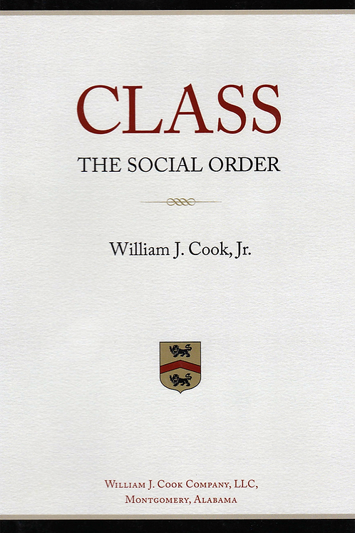 Class: The Social Order