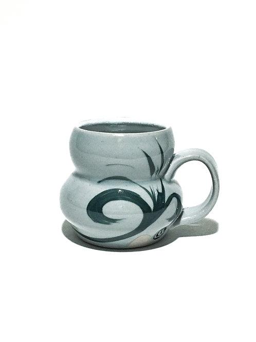 Floral Hip Mug