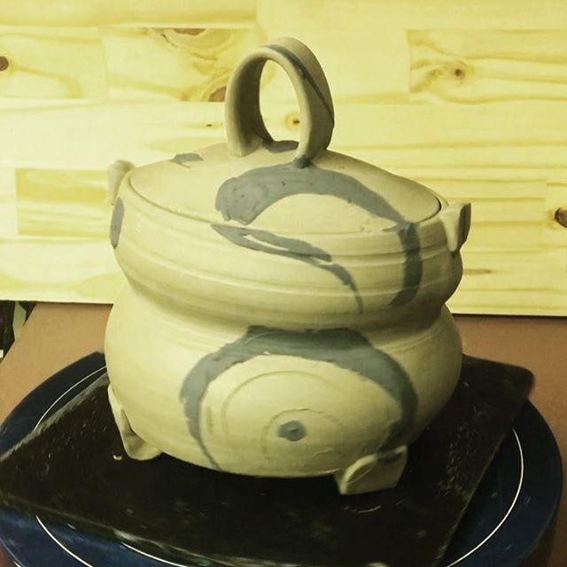 A lidded vessel