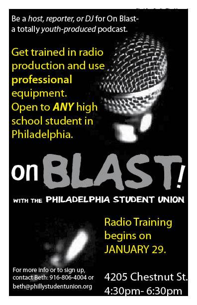 onBLAST jan 2013 flyer