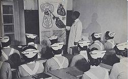 Alumnos escuela sanitaria