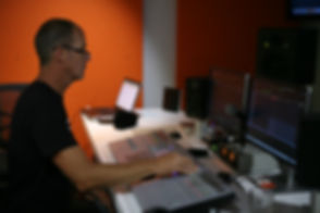 Steve Hessell. Audio Engfineer _ Sound D