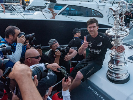 It's done. Emirates Team New Zealand have successfully defended the America's Cup