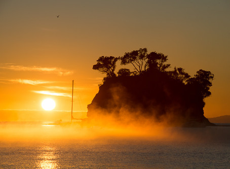 Sunrise in Torbay